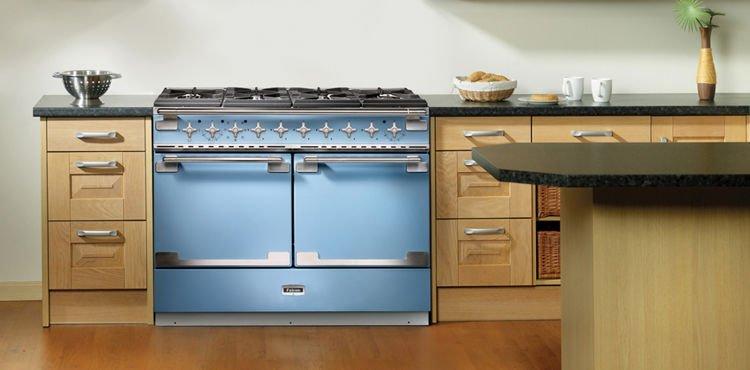 Kuchnia Gazowa Falcon Els 110 Df Stalowy Gotowanie