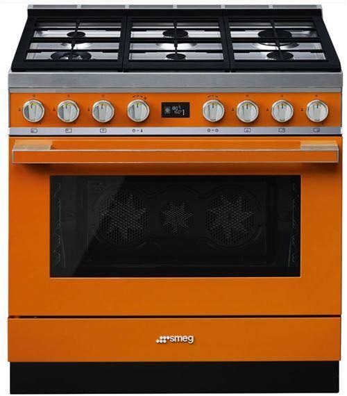 Kuchnia wolnostojąca Smeg z płyta gazową 90 cm, kolekcja Portofino CPF9GPOR  -> Kuchnia Gazowa Smeg